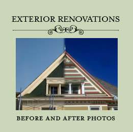 Exterior Photos of Our 1904 Victorian