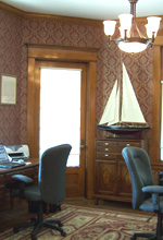 Parlor Room converted to our Office